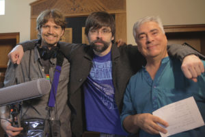 Dagaz Media's William Dufris and Fred Greenhalgh meet author Joe Hill